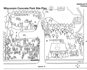 Wisconsin Concrete Park Site Plan without Tavern Property
